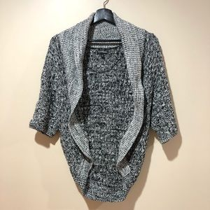 Express Womens Knitted Cardigan Gray XS